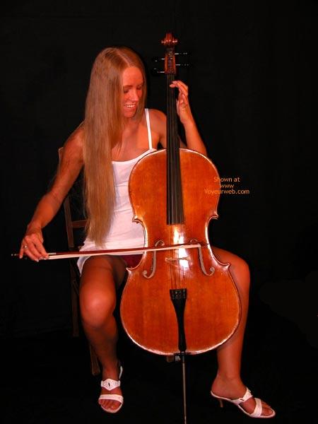 Pic #1 - Female Cello Player