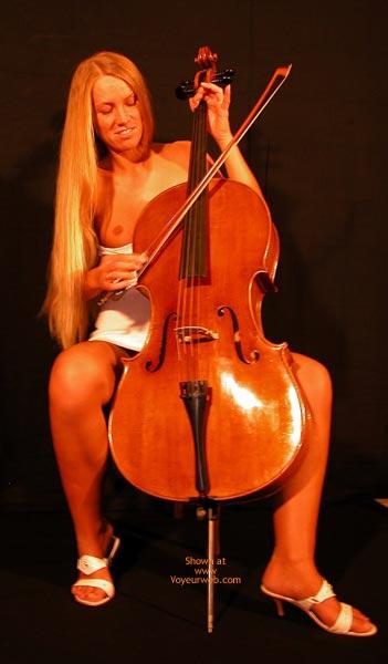 Pic #3 - Female Cello Player