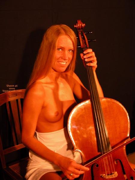 Pic #5 - Female Cello Player