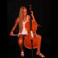 Female Cello Player