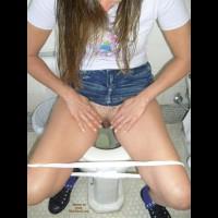 No Pants Girl
