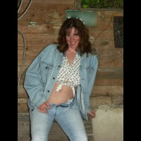 Lisajane With Her Cowboy Boots On