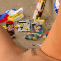 Pubic Hair Landing Strip - Dark Hair, Landing Strip, Pubic Hair, Spread Legs, Trimmed Pussy
