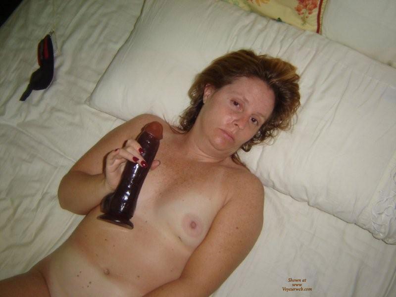Pic #1 - Luvs Black Cock , My Wife Loves Her Big Dildo