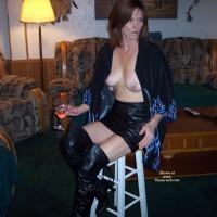 Sexy Nina On A Chair