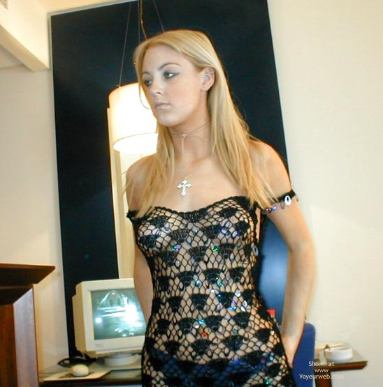 Pic #1 - Sexy Blonde Sexy Dress