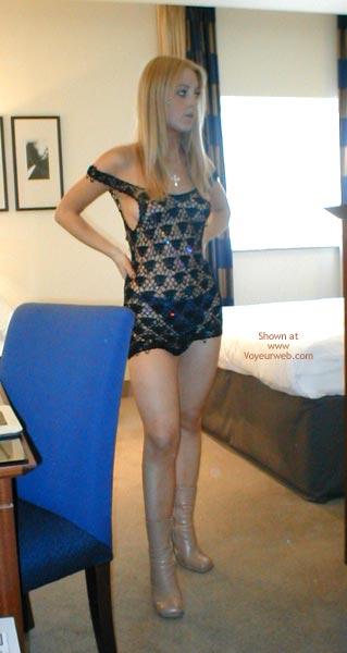 Pic #3 - Sexy Blonde Sexy Dress