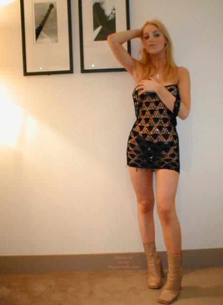 Pic #5 - Sexy Blonde Sexy Dress