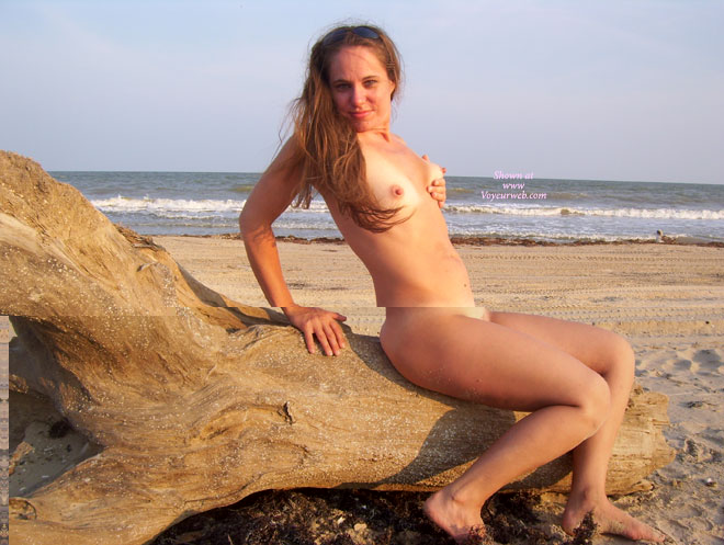 Pic #1 - Naked On The Beach - Brown Hair, Erect Nipples, Long Hair, Naked Girl, Nude Amateur , Side Shot, Nude At The Beach, Long Erected Nipples, Tan Lined Tits, Naked Near The Sea