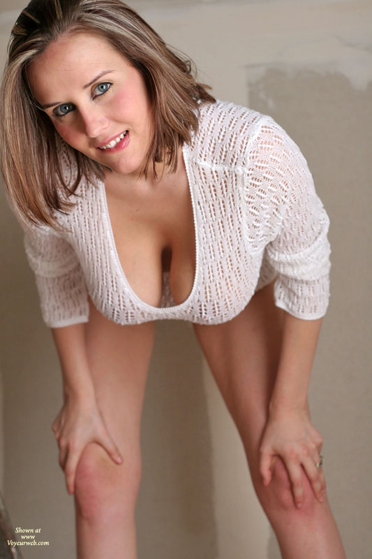 Milf in tight sweater