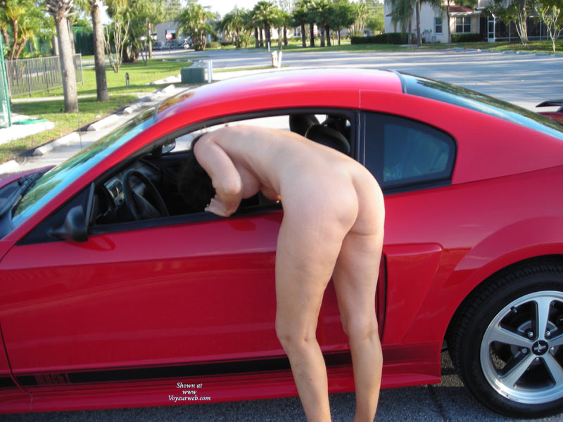 Pic #1 - Bending Naked Into Car - Naked Girl, Nude Amateur , Bent Over Leaning In Car, Reaching Into A Car, Nude In Street, Nude Ass Outdoors, Leaning Inside Car Window, Naked Looking Into Car, Mustang Mach 1, Naked In Street With Car, Nude And Car, Back Shot, Bending Over