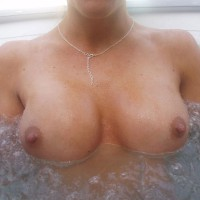 Tits In A Hot Tub - Big Tits, Perky Nipples, Topless
