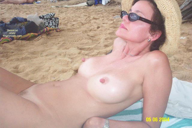 Pic #3 - Baby Doll Goes to The Nude Beach