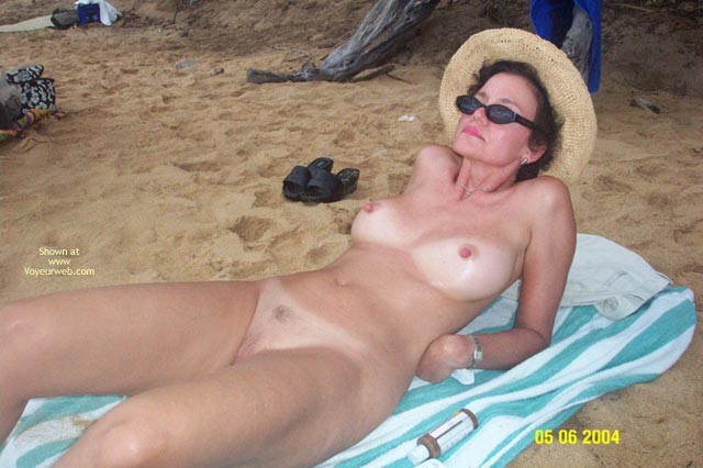 Pic #4 - Baby Doll Goes to The Nude Beach
