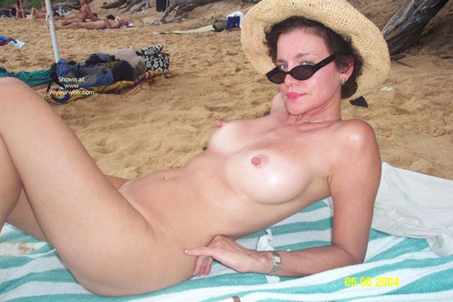 Pic #5 - Baby Doll Goes to The Nude Beach