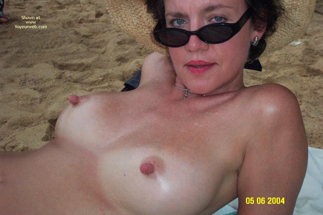Pic #6 - Baby Doll Goes to The Nude Beach
