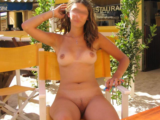 Pic #7 - Beautiful GF Marie at The Naturist Beach in The South of France (no horses this time!!!)