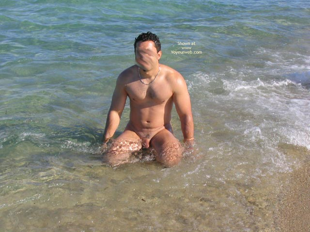Pic #8 - Beautiful GF Marie at The Naturist Beach in The South of France (no horses this time!!!)