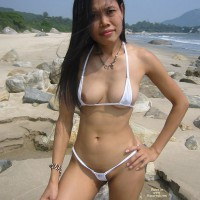 Sexy Indonesian Girl Linda - At The Beach Part 2