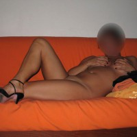 Libellula - Naked On Sofa Part2