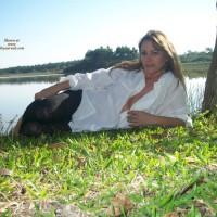 Linda On The Pond