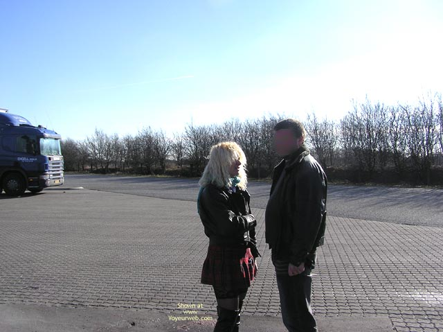 Pic #1 - Jaol Speaking With A Trucker