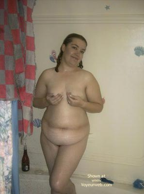 Pic #2 - Wife Cleans Up In Shower