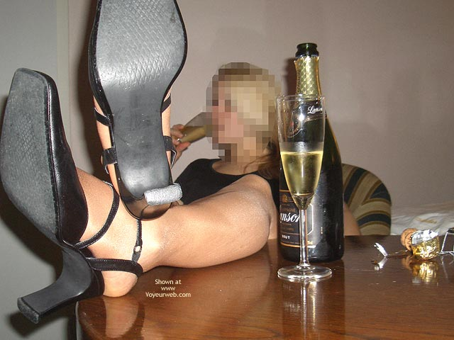 Pic #2 - *NL Champagne & Stockings 1