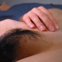 Flat Stomach - Flat Stomach, Laying Down, Pubic Hair