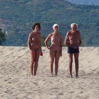 Nude Beach Corsica