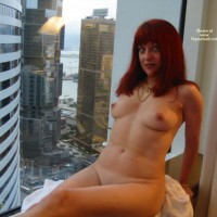 Naked At The Window - Milf, Perky Tits, Naked Girl, Nude Amateur