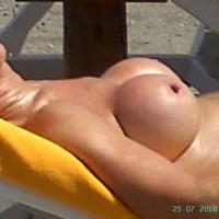Tits In Beach