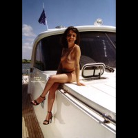 Angela on The Boat!!