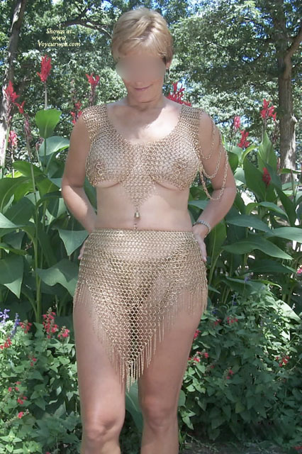 Pic #1 - Kas In Chainmaille , Just A Day At Ren Fest Fitting Kas In Chainmaille.. Big Thanks To Lord Randolph!