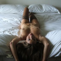 Milf Landscape On White Sheets - Milf, Nude Amateur