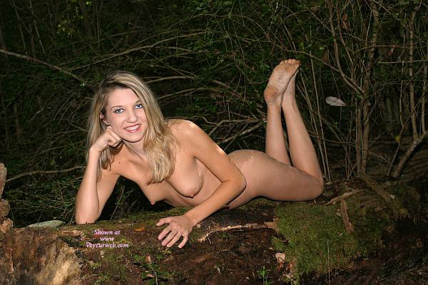 Nude Blonde With Dirty Feet Showing - Blonde Hair, Erect Nipples, Long Hair, Naked Girl, Nude Amateur, Sexy Feet , Nude Blonde With Breasts Showing Lying On Stomach, Feet Up In Air Behind Her, Lying Naked On Wood, Blonde Getting Dirty With Nature, Nude Girl Reclining On Ground In The Woods, Naked In The Woods, Nude Blonde Lying On Stomach, Nude Blonde On A Log