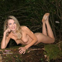 Nude Blonde With Dirty Feet Showing - Blonde Hair, Erect Nipples, Long Hair, Naked Girl, Nude Amateur, Sexy Feet