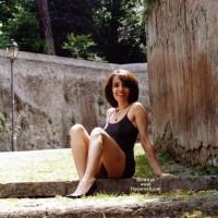 Angela Around Rome