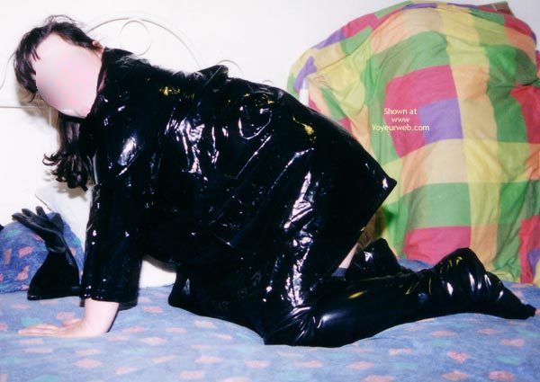 Pic #5 - My Lovely Wife In Pvc Jacket