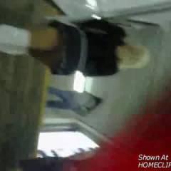Amazing Upskirt At Train Station