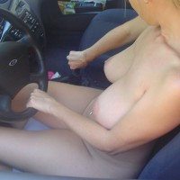 Shifting Gears - Blonde Hair, Huge Tits, Pierced Nipples, Naked Girl, Nude Amateur