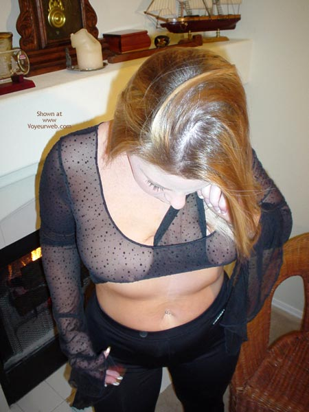 Pic #5 - Sexy In Back Sheer