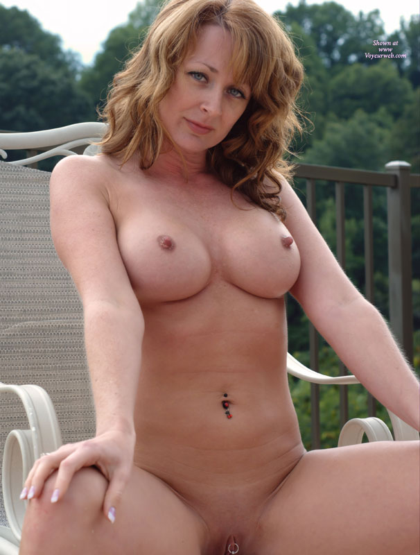 Redhead With Blue Eyes Naked On Balcony With Hard Nipples And Clit Piercing - Blue Eyes, Hard Nipple, Shaved Pussy, Spread Legs, Naked Girl, Nude Amateur , Perky And Pierced On The Deck, Girl On A Deck Chair, Tiny Hard Nipples, Body Piercings, Nude Sunbathing, Pierced Button And Pussy, Sitting Legs Spread On A Chair, Clit Ring, Pussy Ring