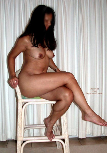 Pic #6 - Asian Cutie And A Chair