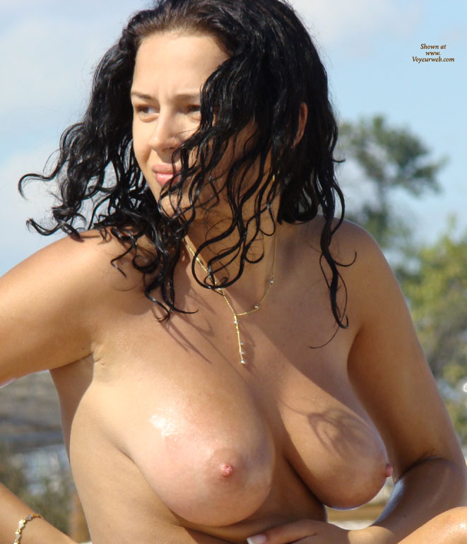 Pic #2 Boobs Oiling