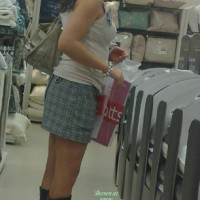 While Out Shopping