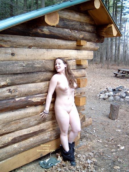 Pic #3 - Jenn 19 At The Campsite