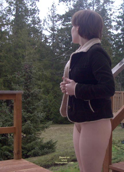 Pic #2 - Naked On The Deck