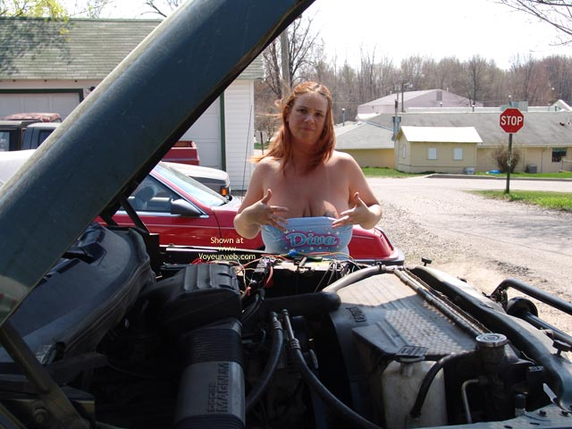 Pic #2 - Checking Under The Hood