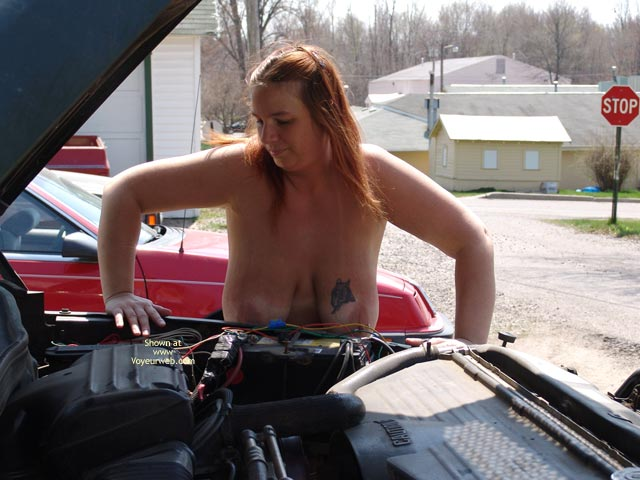 Pic #4 - Checking Under The Hood